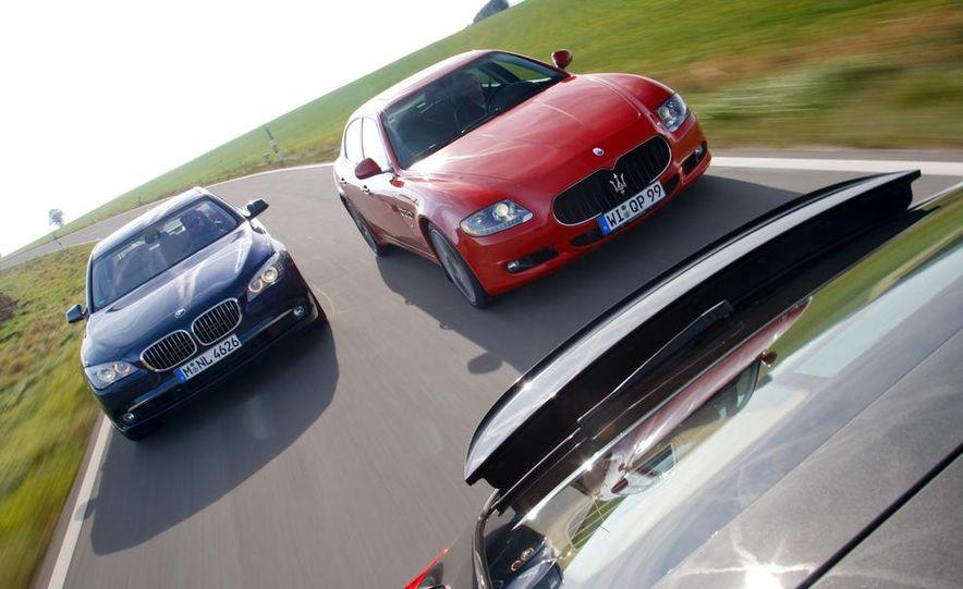 2009 BMW 750i (European spec) - Slide 57