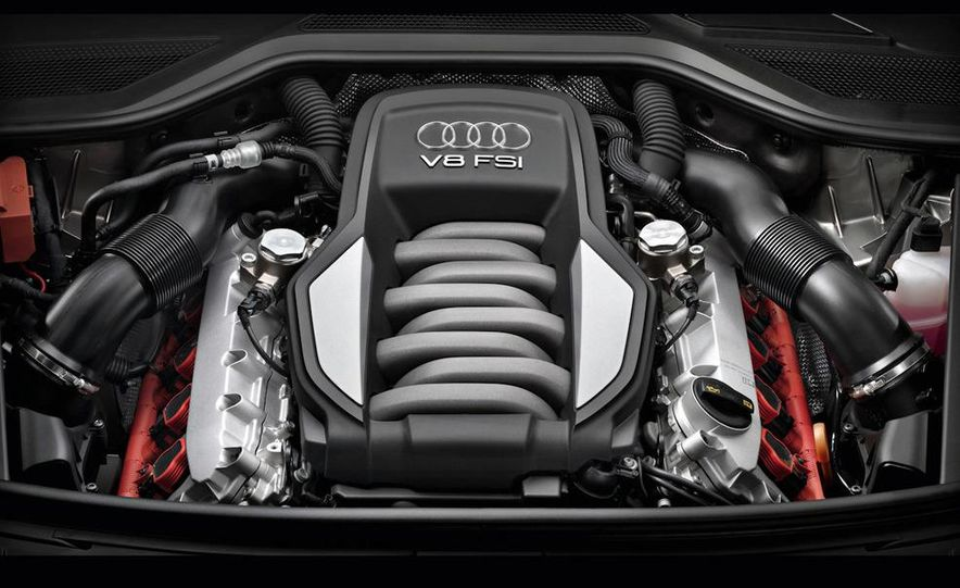 2011 Audi A8 (European spec) - Slide 56