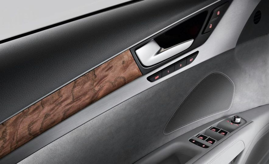 2011 Audi A8 (European spec) - Slide 52