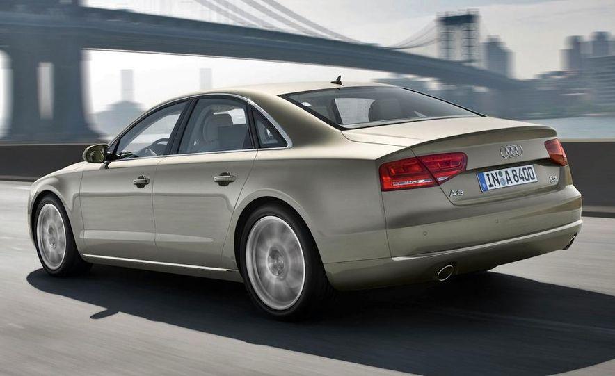 2011 Audi A8 (European spec) - Slide 21