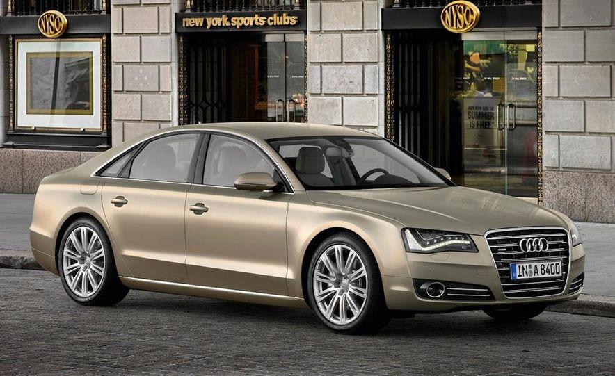 2011 Audi A8 (European spec) - Slide 12