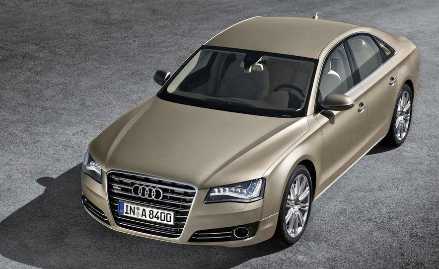 2011 Audi A8 (European spec) - Slide 4
