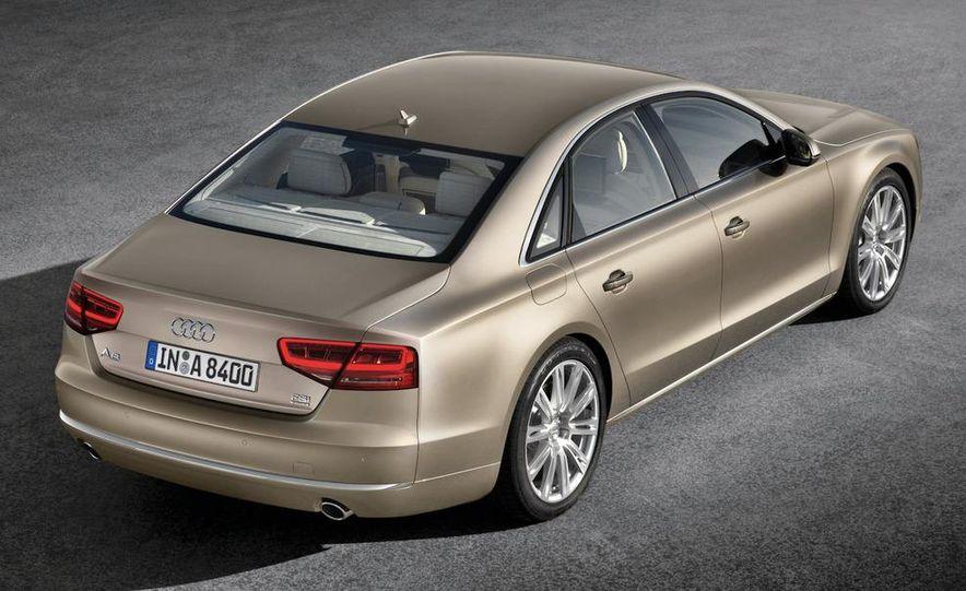 2011 Audi A8 (European spec) - Slide 19