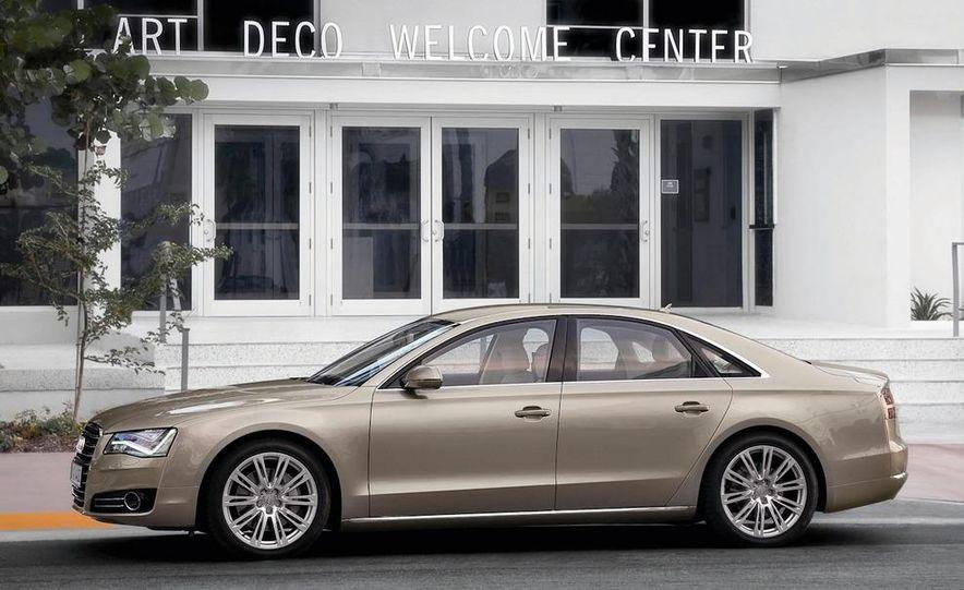 2011 Audi A8 (European spec) - Slide 18