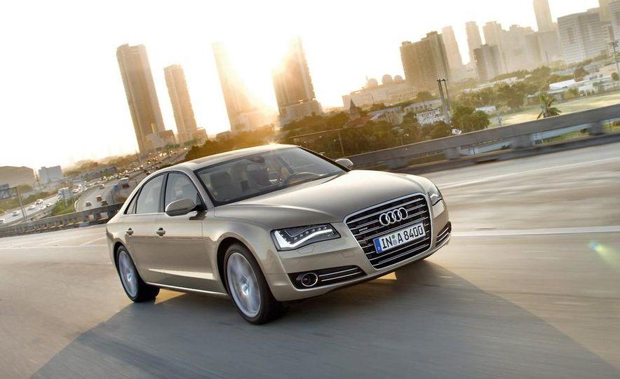 2011 Audi A8 (European spec) - Slide 6