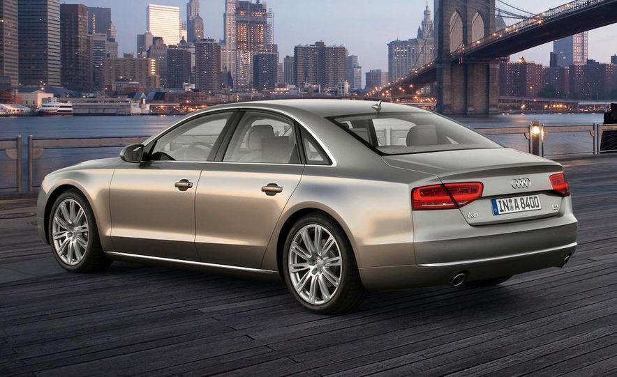 2011 Audi A8 (European spec) - Slide 23