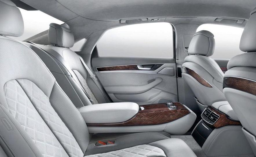 2011 Audi A8 (European spec) - Slide 42