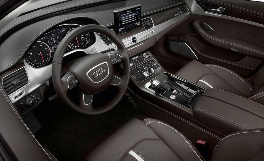 2011 Audi A8 (European spec) - Slide 43