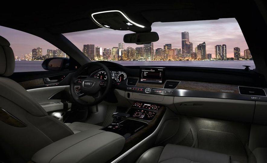 2011 Audi A8 (European spec) - Slide 55