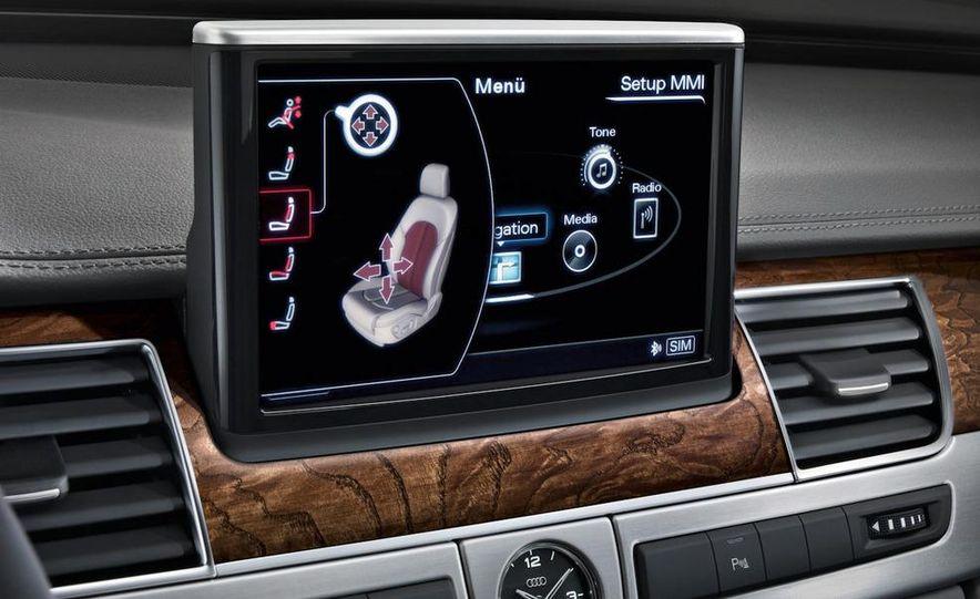 2011 Audi A8 (European spec) - Slide 48