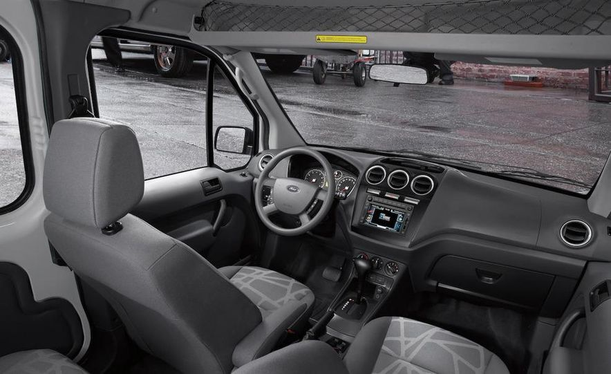 2011 Ford Transit Connect natural gas taxi - Slide 43