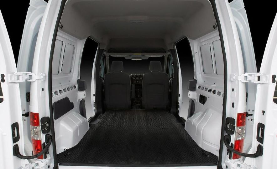 2011 Ford Transit Connect natural gas taxi - Slide 53