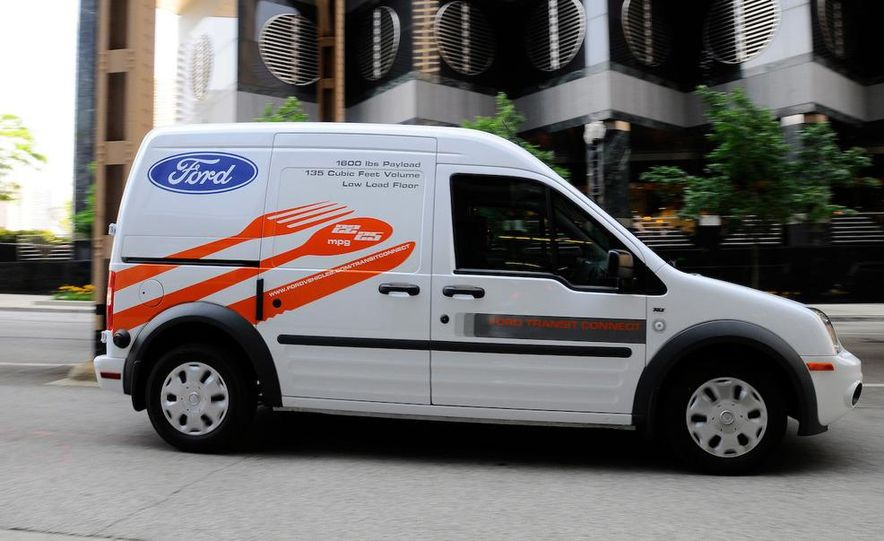 2011 Ford Transit Connect natural gas taxi - Slide 37