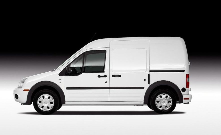 2011 Ford Transit Connect natural gas taxi - Slide 38