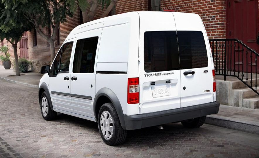 2011 Ford Transit Connect natural gas taxi - Slide 40