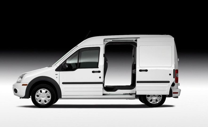 2011 Ford Transit Connect natural gas taxi - Slide 41