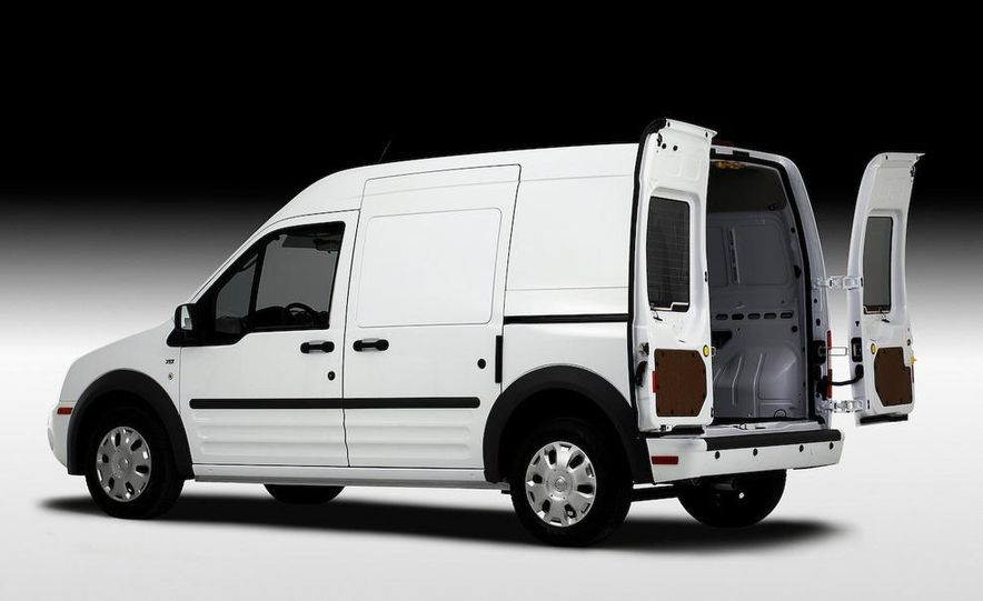2011 Ford Transit Connect natural gas taxi - Slide 42