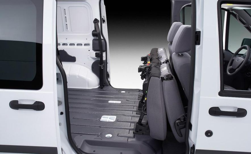 2011 Ford Transit Connect natural gas taxi - Slide 49