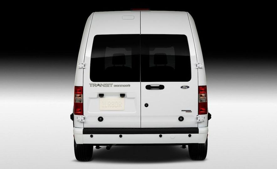 2011 Ford Transit Connect natural gas taxi - Slide 52