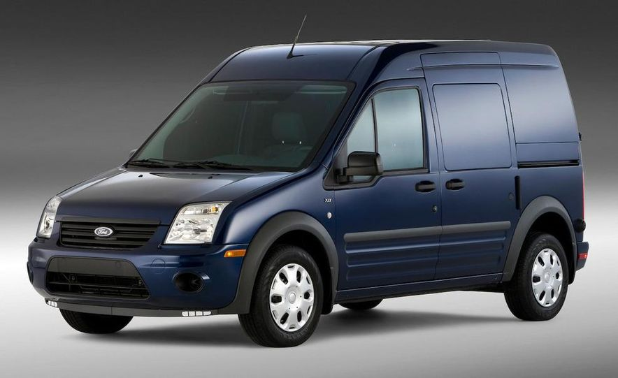 2011 Ford Transit Connect natural gas taxi - Slide 54