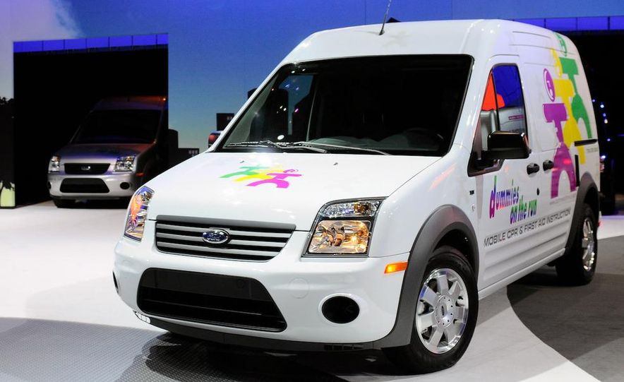 2011 Ford Transit Connect natural gas taxi - Slide 59