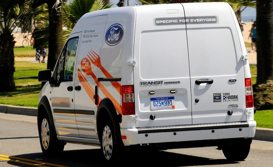 2011 Ford Transit Connect natural gas taxi - Slide 70