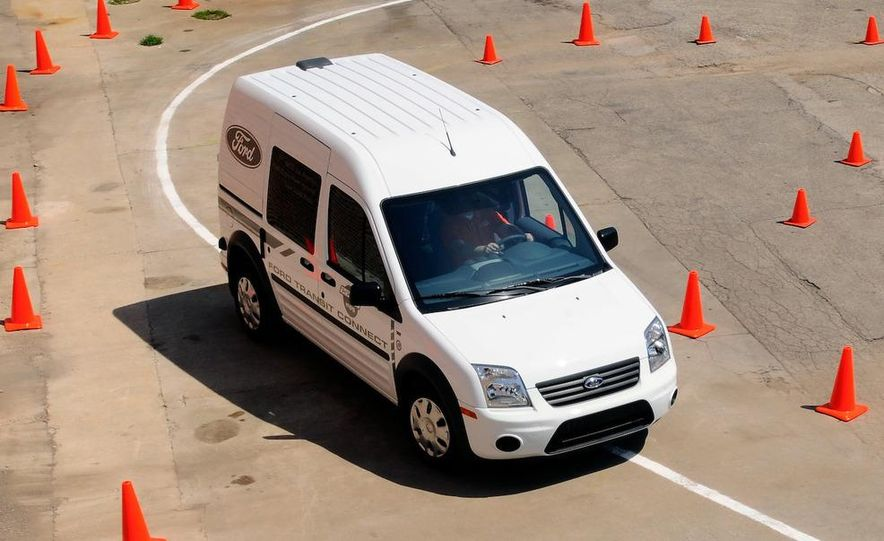 2011 Ford Transit Connect natural gas taxi - Slide 72