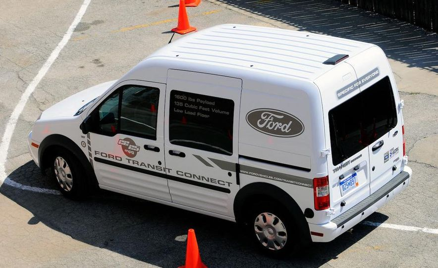 2011 Ford Transit Connect natural gas taxi - Slide 73
