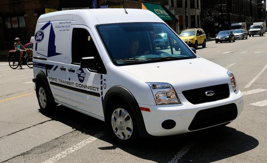 2011 Ford Transit Connect natural gas taxi - Slide 74