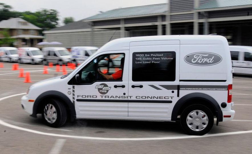 2011 Ford Transit Connect natural gas taxi - Slide 77