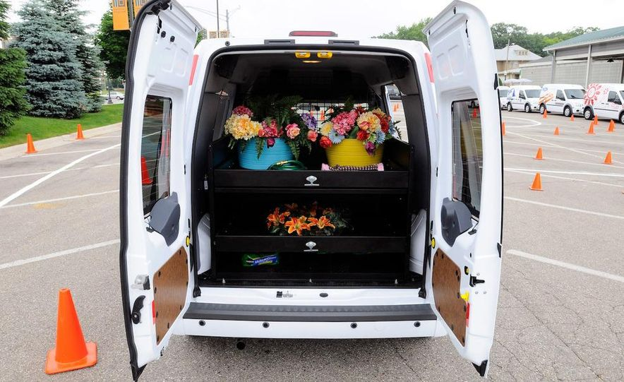 2011 Ford Transit Connect natural gas taxi - Slide 80