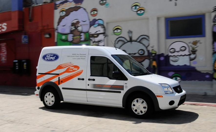 2011 Ford Transit Connect natural gas taxi - Slide 81
