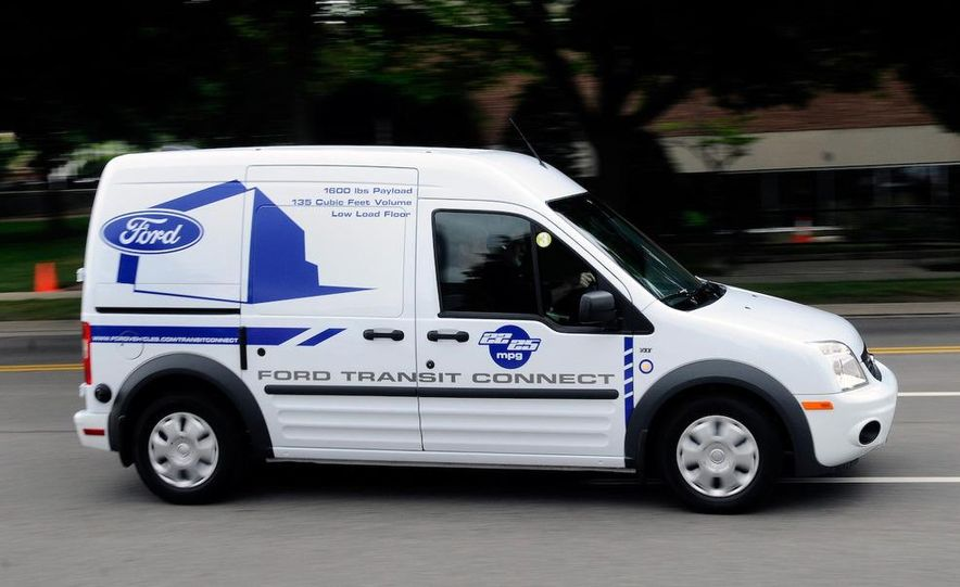 2011 Ford Transit Connect natural gas taxi - Slide 82