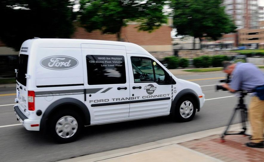 2011 Ford Transit Connect natural gas taxi - Slide 83