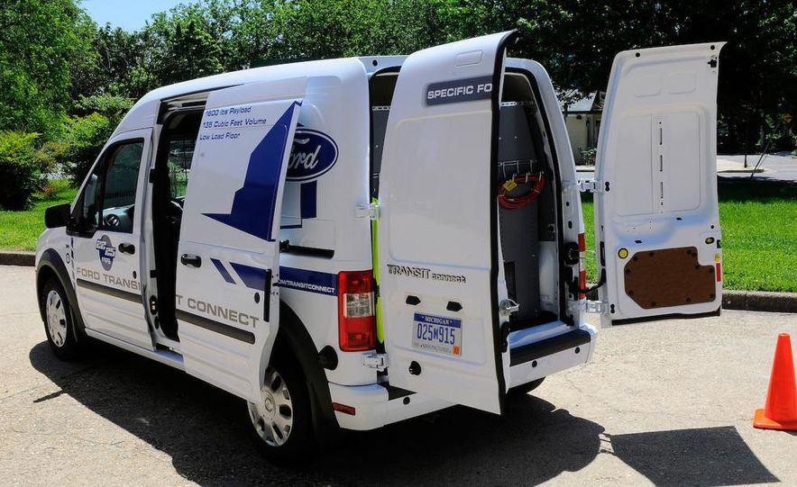 2011 Ford Transit Connect natural gas taxi - Slide 86