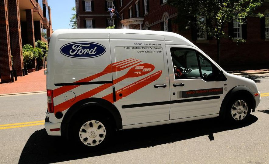 2011 Ford Transit Connect natural gas taxi - Slide 87