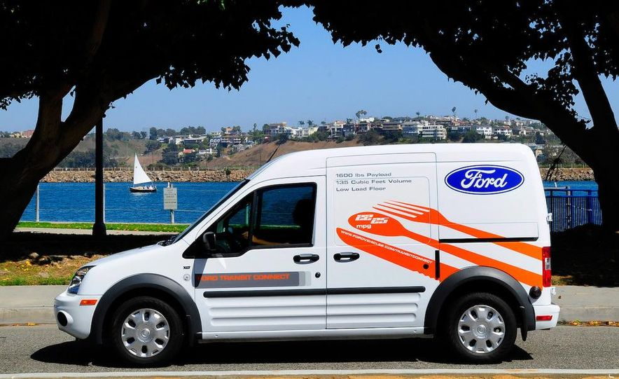 2011 Ford Transit Connect natural gas taxi - Slide 92