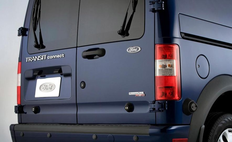 2011 Ford Transit Connect natural gas taxi - Slide 67