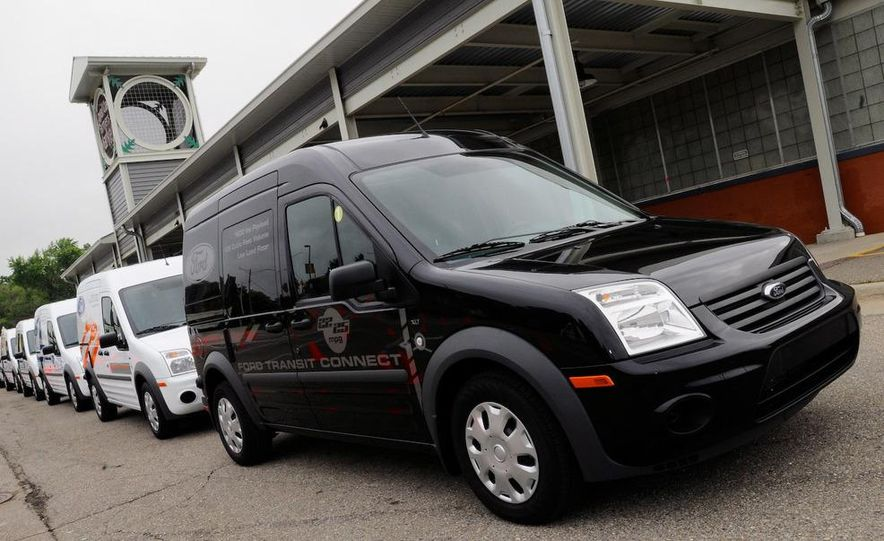 2011 Ford Transit Connect natural gas taxi - Slide 78