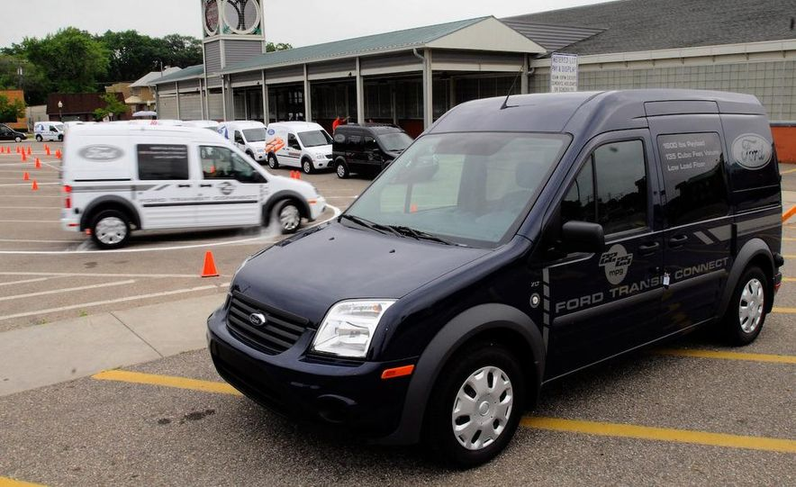2011 Ford Transit Connect natural gas taxi - Slide 79