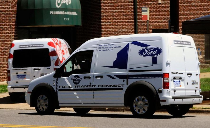 2011 Ford Transit Connect natural gas taxi - Slide 85
