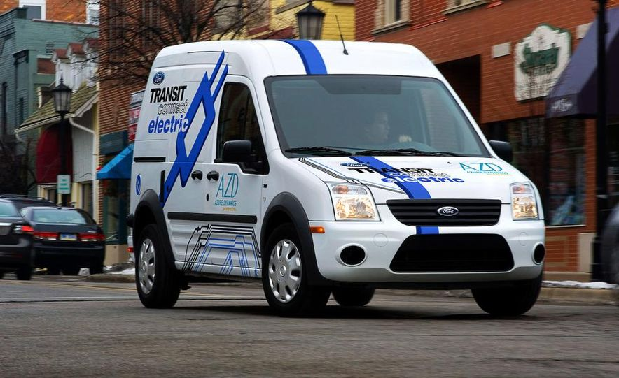 2011 Ford Transit Connect natural gas taxi - Slide 19