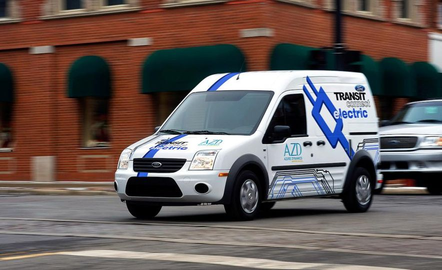 2011 Ford Transit Connect natural gas taxi - Slide 20