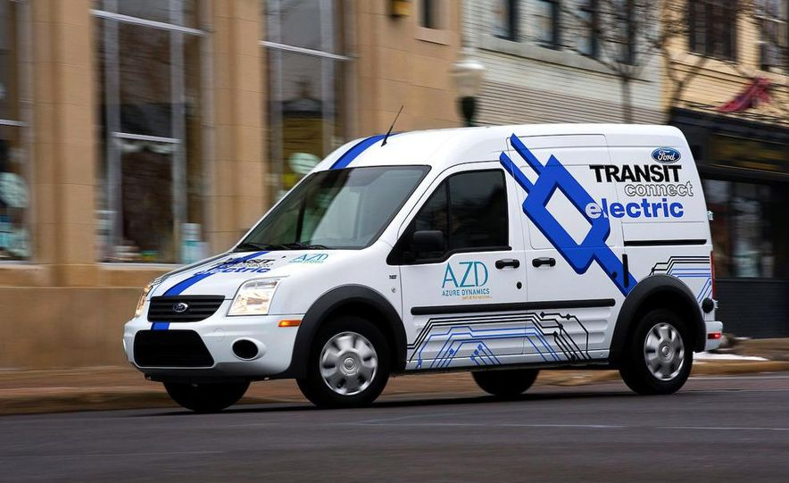 2011 Ford Transit Connect natural gas taxi - Slide 22