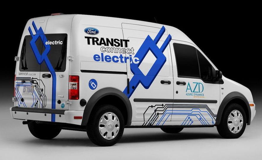 2011 Ford Transit Connect natural gas taxi - Slide 23