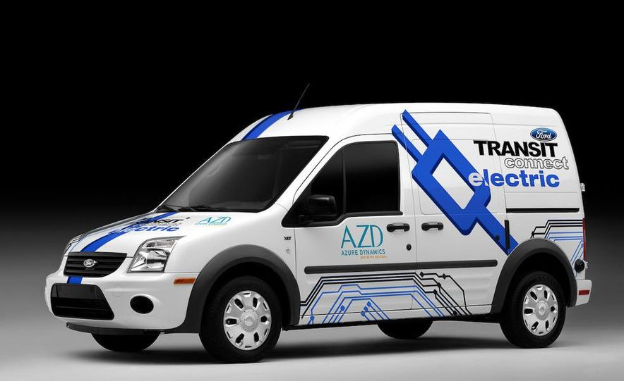 2011 Ford Transit Connect natural gas taxi - Slide 24