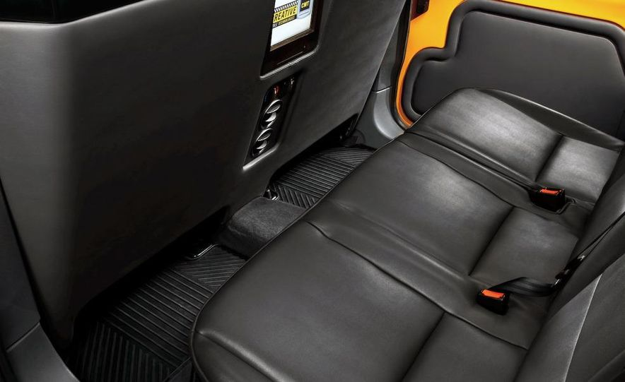 2011 Ford Transit Connect natural gas taxi - Slide 34