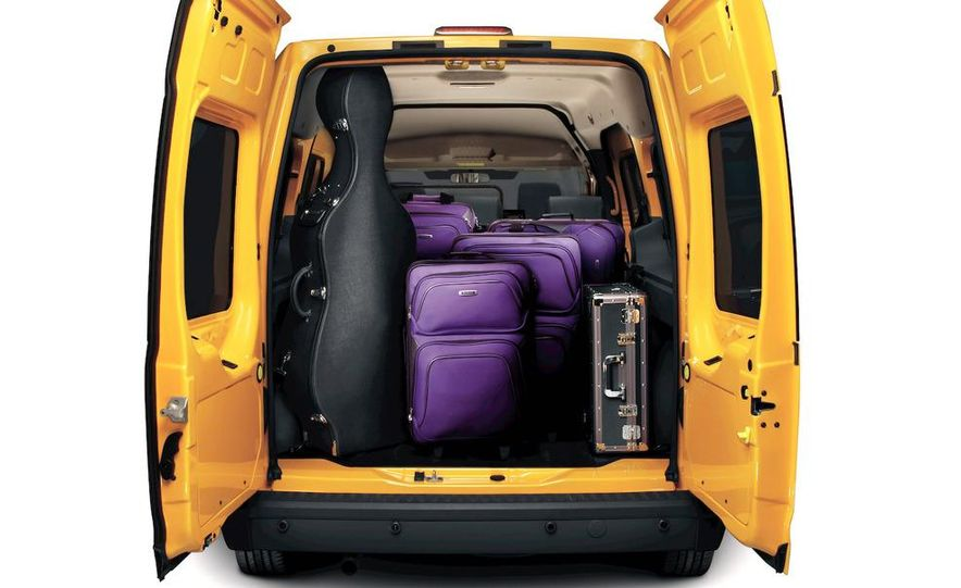 2011 Ford Transit Connect natural gas taxi - Slide 32