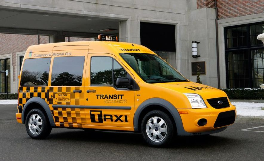 2011 Ford Transit Connect natural gas taxi - Slide 25