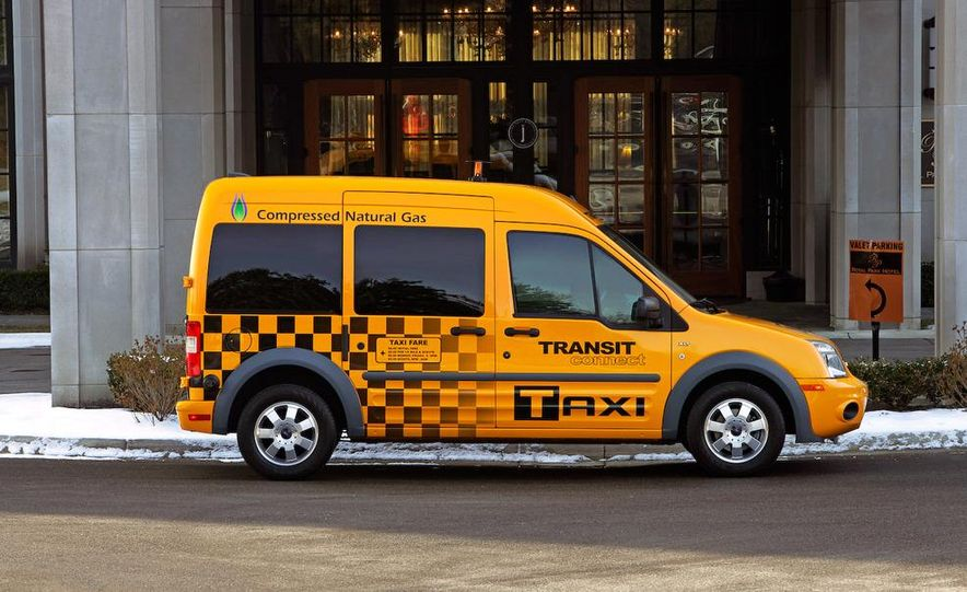 2011 Ford Transit Connect natural gas taxi - Slide 26